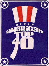 American Top 40 'Uncle Sam' logo, by artist, Paul Gruwell, circa 1970