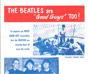 "The Beatles are ""Good Guys"" Too!"