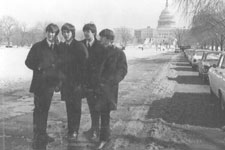 Beatles sightseeing in DC