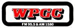 WPGC Bumpersticker - Block Letter Logo with oval frame