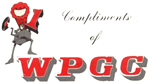 WPGC Contest Winner Label - Block Letter Logo