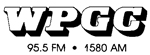 WPGC Reel To Reel Box Label - Block Letter Logo revisited