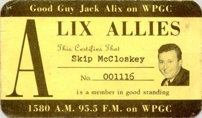 WPGC - Jack Alix Allies card