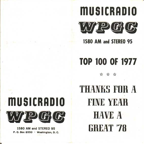 WPGC Top 100 of 1977 - Outside