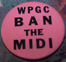 WPGC - Ban The Midi button