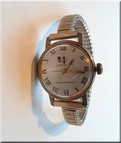 WPGC Good Guys woman's wristwatch