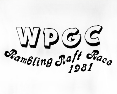 WPGC - 1981 Ramblin' Raft Race T-shirt